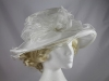  Ivory Organza Hat
